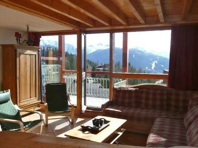 Photo for ARCS 1800 RARE! 4 sunny rooms at the foot of the slopes with Balcony!
