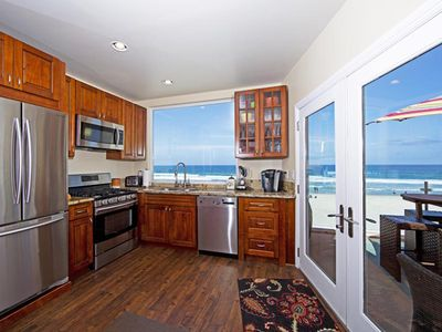 Photo for Beautiful Oceanfront Penthouse North Mission Beach