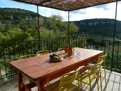 Photo for House with character, MAGNIFICENT VIEW on Luberon, PANORAMIC TERRACE, Gardens