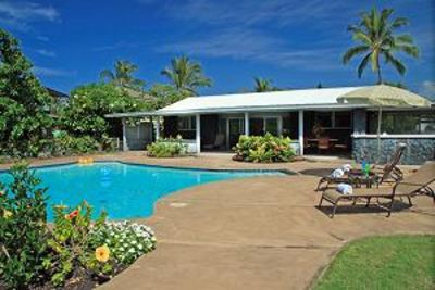 Photo for Pahukoa Hale - Direct Ocean Front Hawaiian Style home in Kona Bay Estates