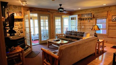 Photo for 2BR Cabin Vacation Rental in St. Germain, Wisconsin