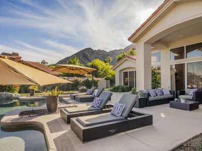 Photo for Luxurious Estate, Private Pool and Spa! La Quinta Getaway, Beautiful Views!