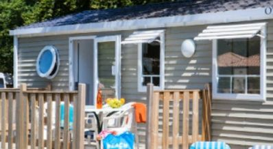 Photo for Camping Château La Forêt **** - Mobile home Riviera 3 Rooms 6 People