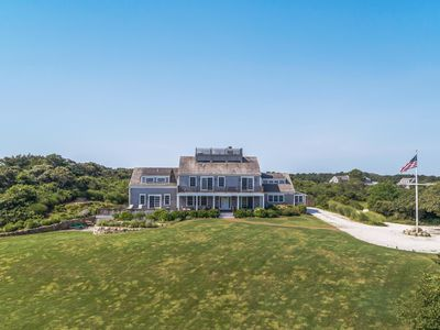 Photo for Carpe Diem: Incredible 6BR Estate Overlooking Polpis Harbor