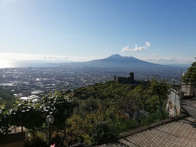 Photo for Incanto Casa Vacanza 75 Mt enchanting view of the Gulf of Naples