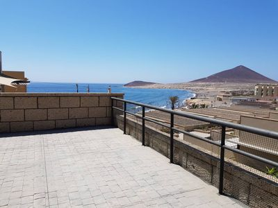 Photo for The Médano. Spectacular terrace and sea views II