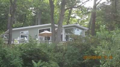 Photo for A delightful cottage set on the east shore of Cayuga lake!