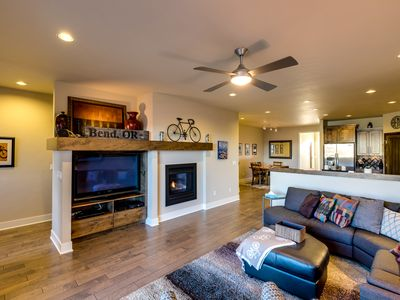 Photo for Upscale townhome w/ river access, great views, & game system.