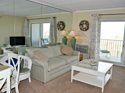 Photo for Relax in Comfort in This Ocean Front and Spacious 1 Bedroom Condo!