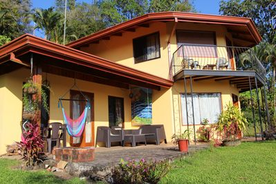 Home on private estate and nature preserve with Lake Arenal view and access.