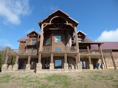 Photo for Breathtaking Waterfront Lodge.  Book your Adventure Today!  Includes Kayaks!