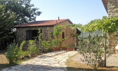 Photo for Dépendance from Casale, cozy Stone Cottage in a quiet location