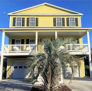 Photo for Kure Beach home just steps from the beach!!!