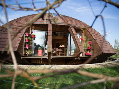 Photo for Round wooden house,