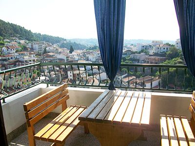 Photo for Hoxha rooms - double room with panoramic balcony - City center