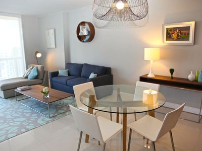 Photo for CITY & RIVER VIEWS FROM 43 FLOOR, W RESIDENCE, FREE: POOL/SPA/GYM/PRIVATE WI-FI