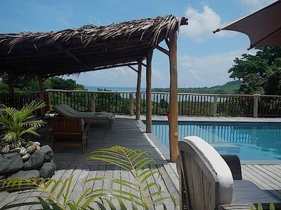 Photo for Jongoa Villa with pool, sea and vegetation for this rental in Nosy Be