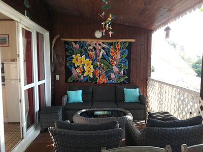Photo for Balaou house, 80m Petite Anse Beach, Bouillante