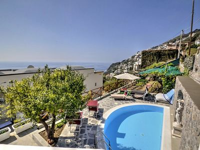Photo for 2 bedroom Villa, sleeps 4 in Praiano with Pool, Air Con and WiFi