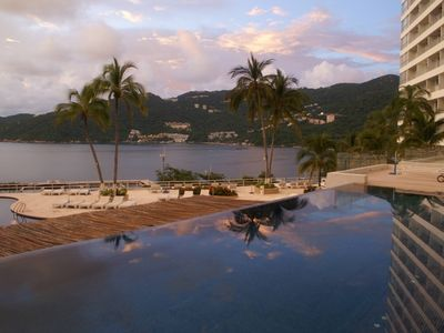 Photo for Beautiful apartment with the best view of acapulco diamante