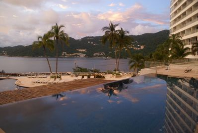 Pool view of the bay