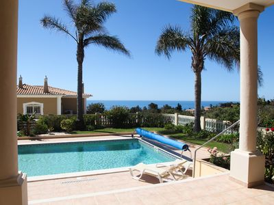 Photo for Casa G has 3 bedrooms, full air-conditioning, great sea views and private pool
