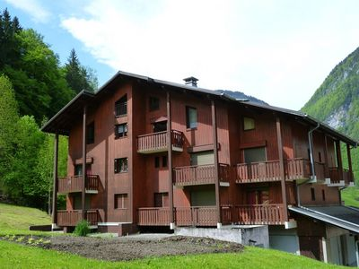 Photo for Sixt Fer-à-Cheval Appt 3 rooms 6 pers in big chalet