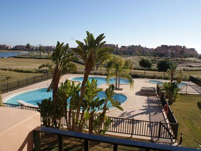 Photo for LUXURY APARTMENT RESIDENCE POOL MAR MENOR GOLF RESORT