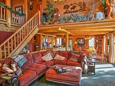 Photo for Designer 4BR Spearfish Home w/Mountain Views!