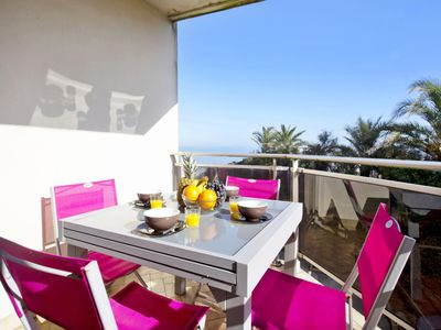 Photo for Quiet flat with terrace and amazing view on the ocean in Biarritz - Welkeys