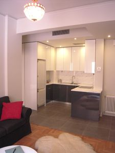 Photo for Acropolis, cosy one-bedroom apartment, in the heart of Athens, Wi -Fi, A/C