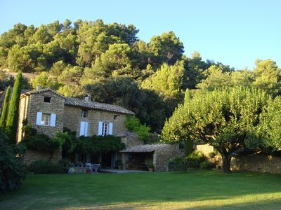 Photo for Mas Provencal 19th century completely renovated with pool