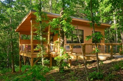 Tiny Arrowhead Cabin Minutes From Asheville And Weaverville Weaverville