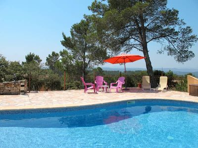 Photo for Apartment in Entrecasteaux, Côte d'Azur hinterland - 8 persons, 3 bedrooms