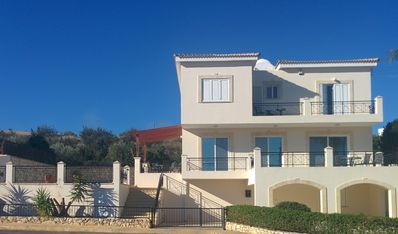 Photo for Luxury Holiday Villa with Private Pool, Gym, WiFi & Lovely Sea & Mountain Views