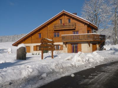 Photo for Beautiful spacious apartment in a chalet
