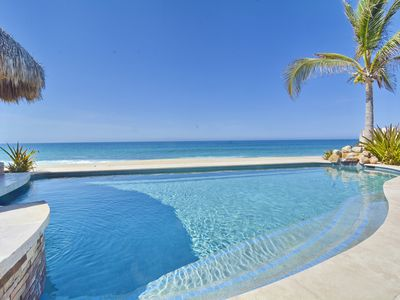 Photo for Stunning 4BD Beachfront Villa. Best deal in Cabo!