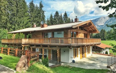 Photo for Alpen Chalet with sauna - dream view in the Wilder Kaiser mountain doctor