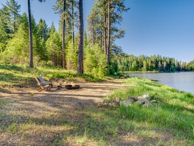 Photo for Private Lake Retreat in the woods/Minutes to Downtown Sandpoint