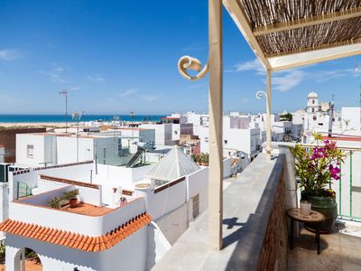 Photo for Charming Studio Apartment in Historical Centre Close To Beach with Rooftop Terrace & Wi-Fi