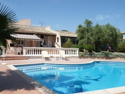Photo for St Raphael apartment in Provencal farmhouse, pool. Great facilities.