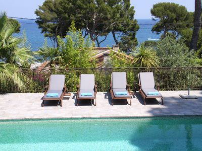 Photo for Stunning sea views Cap d'Antibes