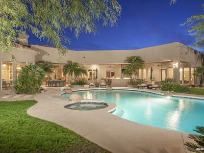 Ultimate Luxury Entertaining Home with Designer Decor & Endless Amenities