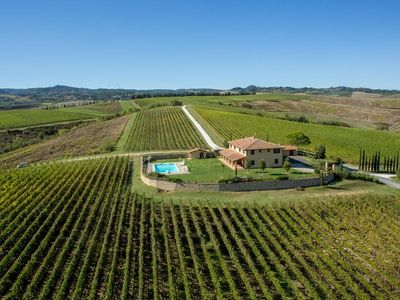 Photo for San Luigi Tipycal Villa in Tuscany - VILLA WITH PRIVATE SWIMMING POOL AND GARDEN, CLOSE TO PISA, GO