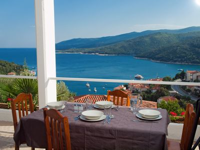 Photo for Apartment with beautiful sea views