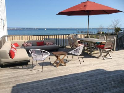 Photo for Waterfront Two Bedroom 1450 sq.ft. Condo Located in the Center of Town