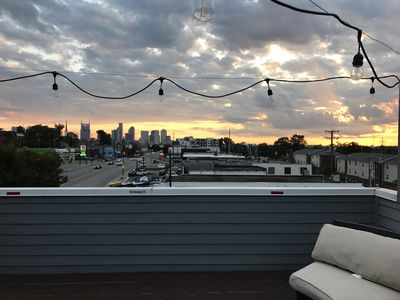 Photo for Amazing Rooftop Deck and Location