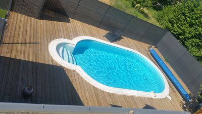 Photo for HOUSE 12/14 people SENE WITH POOL
