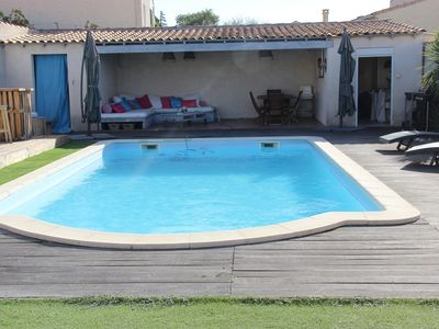 Photo for 2-room house in a housing estate 15 minutes from the sea
