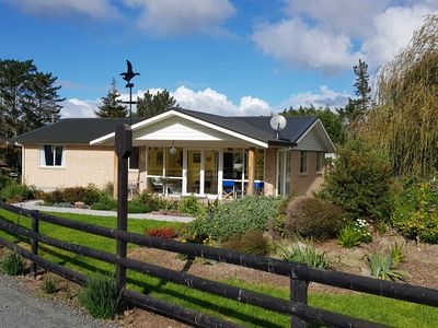Photo for Rural retreat minutes from the beaches of Waipu